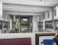 View of interior - architects' rendering of renovated Stevenson Hall