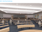 Interior view of a classroom - architects' rendering of renovated Stevenson Hall