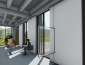 View of collaboration space - architects' rendering of renovated Stevenson Hall