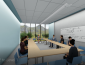 View of meeting space - architects' rendering of renovated Stevenson Hall